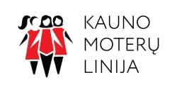 Kauno moterų linija logo