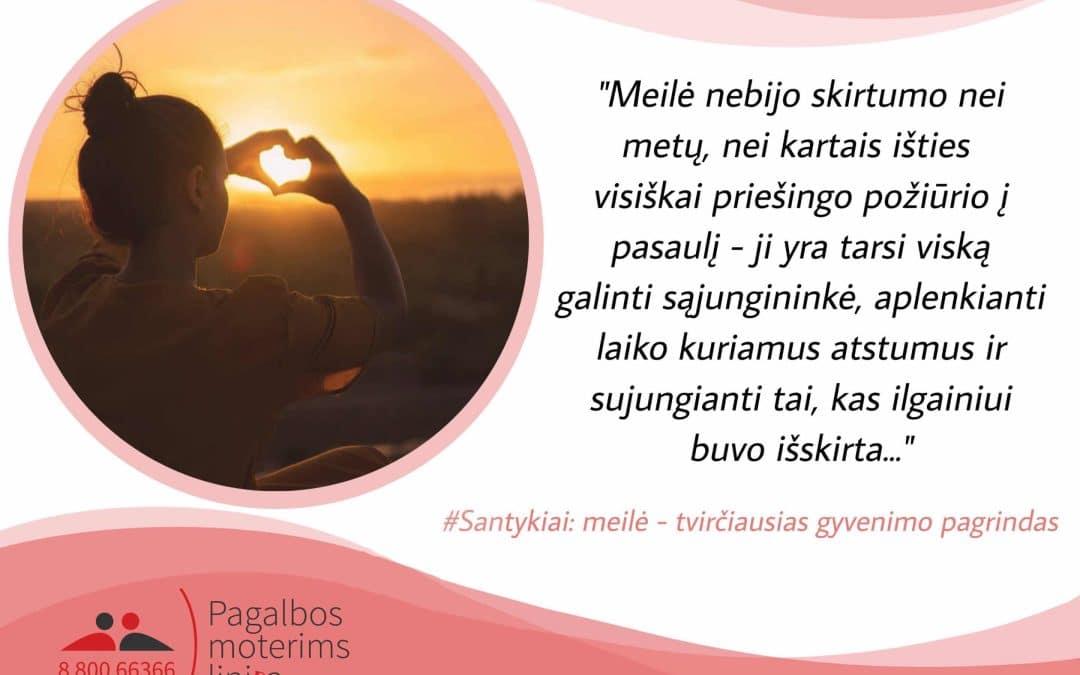 Meilė. Žodžiai apie meilę.